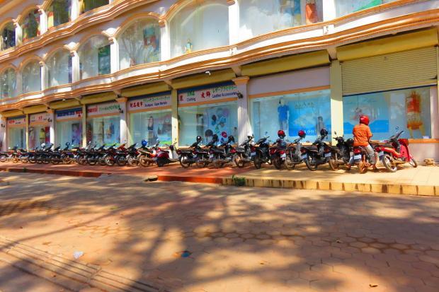 so many motor bikes