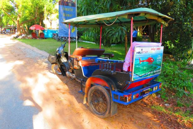 tuk tuk at bay