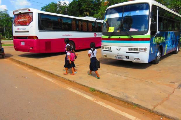 school children - public school is from 7AM to 11AM
