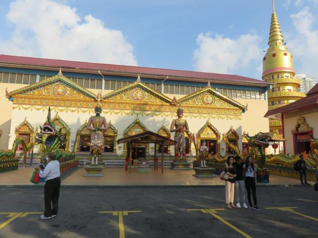 in the Thai temple