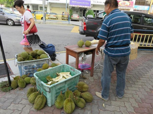 durian stand