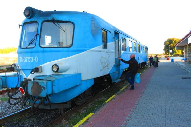a local train back to Constanta