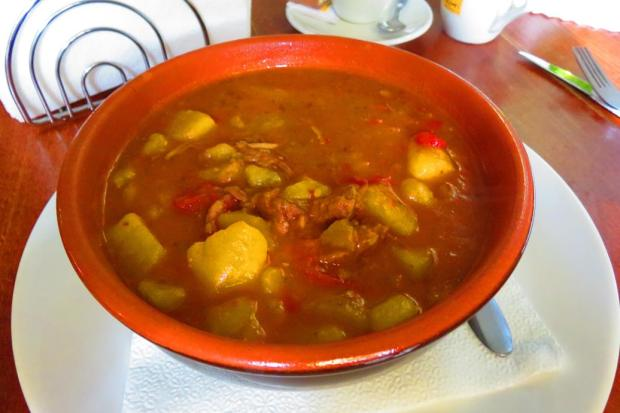 a delicious Romanian stew