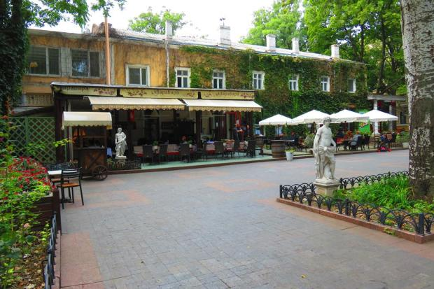 Odessa was like any other European city with restaurants and cafes with tables on the footpath and people soaking up the sun and enjoying themselves