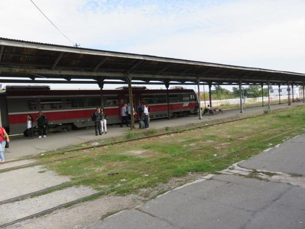 the train at Dunov Station