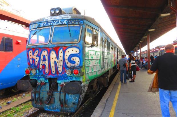 the train to Novi Sad