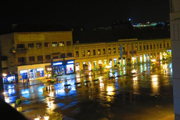 central Novi Sad square