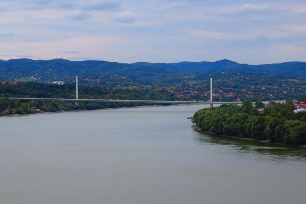 view from Petrovaradin Fortress