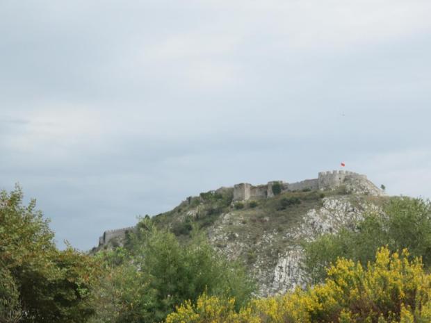 hilltop on the outskirts of Shkoder