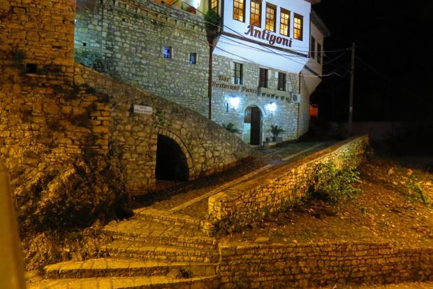 really nice restaurant in Berat, which I ate at a couple of times