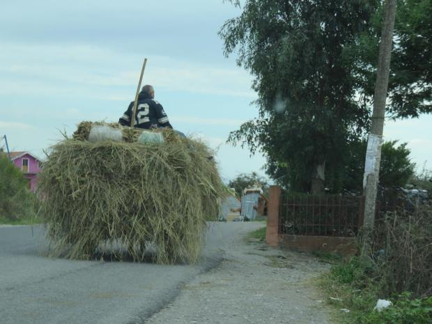 Almost the first vehicle I saw after crossing the border into Albania from Montenegro