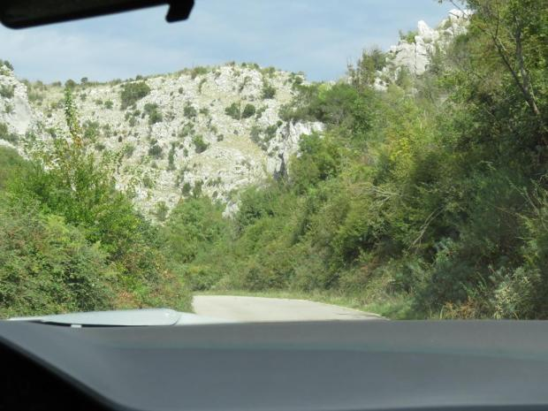 driving south to the Albanian border
