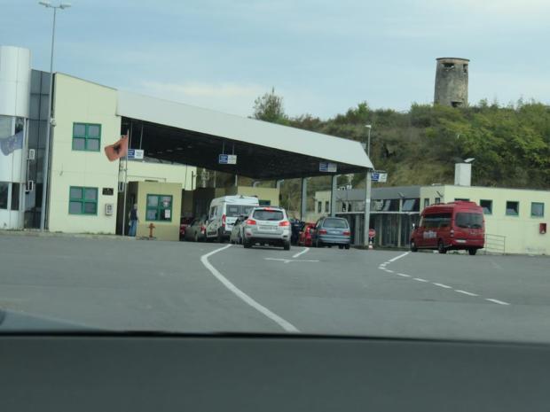 Albanian border post