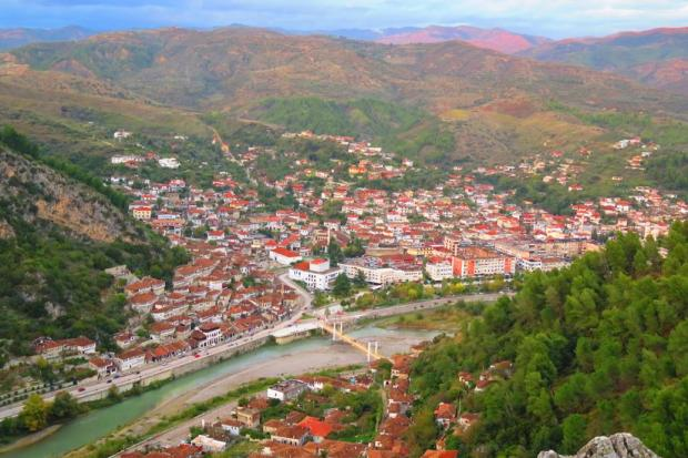 Berat from the top