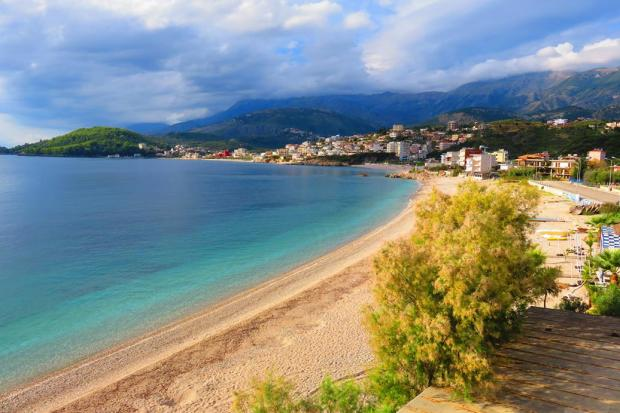 Himare - I swam here