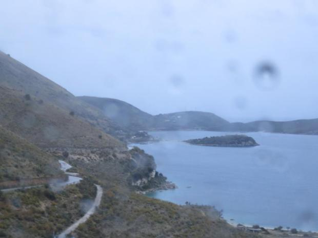 coastal road to Saranda