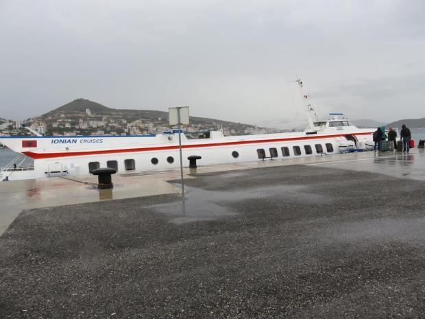 ferry from Saranda to Corfu