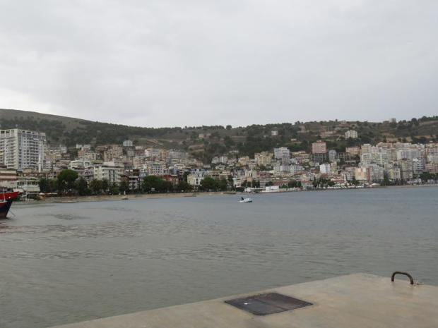 Saranda was quite big