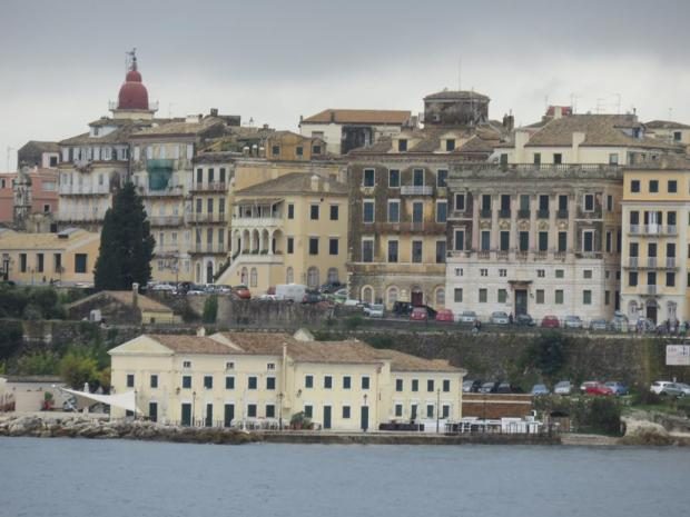 Corfu from the water