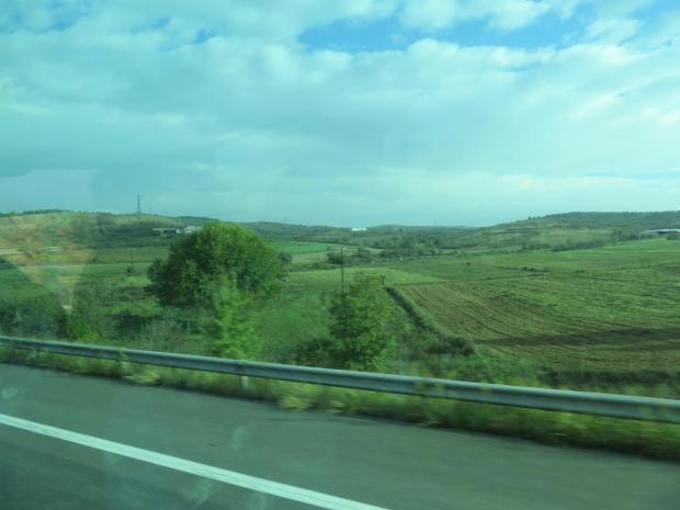on the way to Skopje, Macedonia