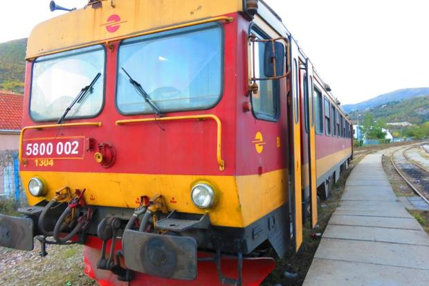 there are plenty of buses from Skopje to Pristina, but only one train per day