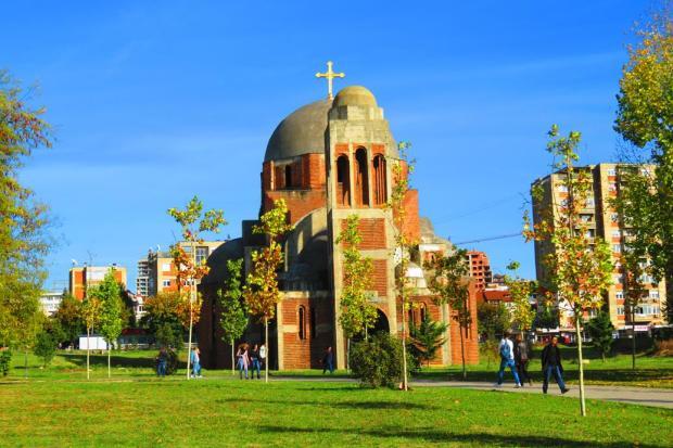 church near the university