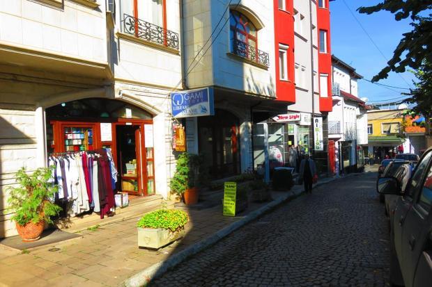 small street near the market