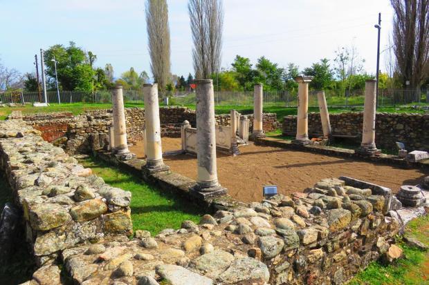 Heraclea - ancient ruins near Bitola
