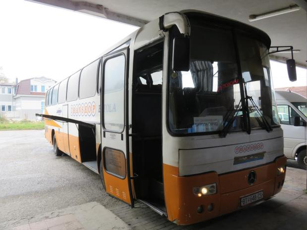 bus to