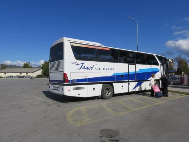 bus back to Skopje