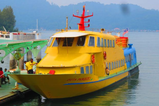 ferry to Pangkor Island